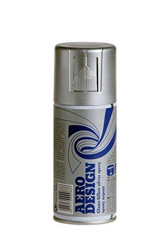 Sprühlack, Lackspray, Design Lack, Glanz Silber 150 ml