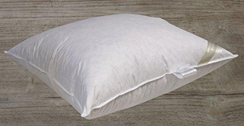 Betten Hofmann Extrem Volumen Daunen-Feder-Kissen Kopfkissen sehr fest 80x80 2000g Füllung