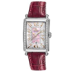 Gevril Women's 7248RE Mini Quartz Avenue of Americas Pink Diamond Watch image