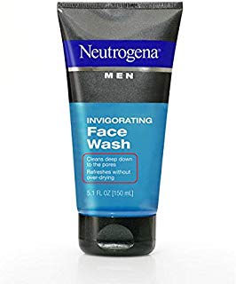 Neutrogena Men Invigorating Face Wash 5.1 Oz (3 Pack)