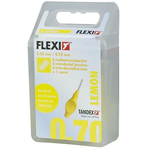 Tandex Flexi Interdentalbürsten gelb fine, 6 Stück