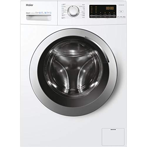 Haier HW100-BE1239 lavadora Independiente Carga frontal Blanco 10 kg 1200 RPM A+++