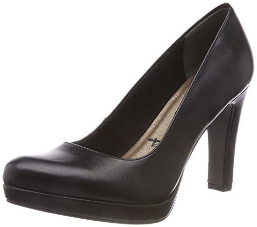 Tamaris Damen 22426 Pumps, Schwarz (Black Matt 020), 41 EU