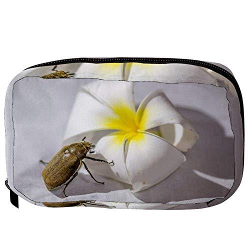 Bolsas de cosméticos escarabajo práctica bolsa de viaje Oragniser bolsa de maquillaje para mujeres y niñas