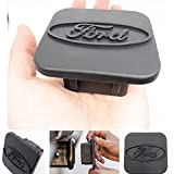 Trailer Hitch Tube Cover Plug Cap for Ford,Rubber Receiver Tube Hitch Plug,F150 F250 Trailer Hitch Cover (fit Ford)