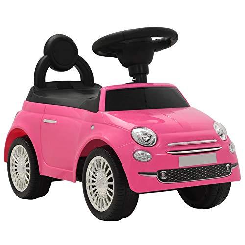 EBTOOLS Lauflernwagen für Babys, Quad, Lauflernhilfe für Kinder, mit Aufbewahrungsmöglichkeit (Rosa)