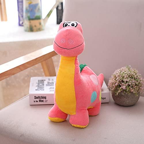 XINQ 20/30 cm Nuevos Dinosaurios Peluches de Hobbies Relleno Dibujos Animados Dinosaurio Dinosaurio Muñecas para niños Muñecas Doll Niños Cumpleaños (Color : Pink, Size : 30cm)