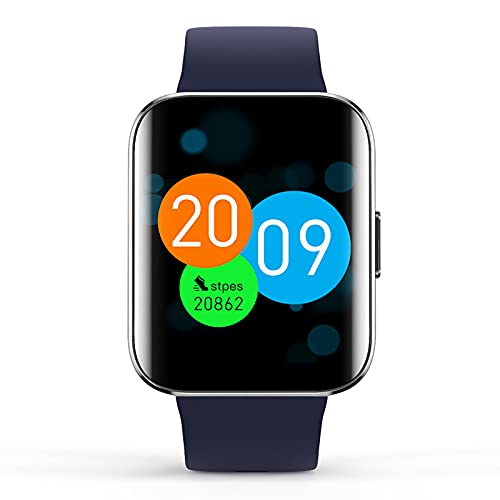 Smart Watch Fitness Tracker Bluetooth Actividad Tracker Frecuencia Cardíaca con Monitoreo de Oximetría del Sueño Compatible con Android e IOS