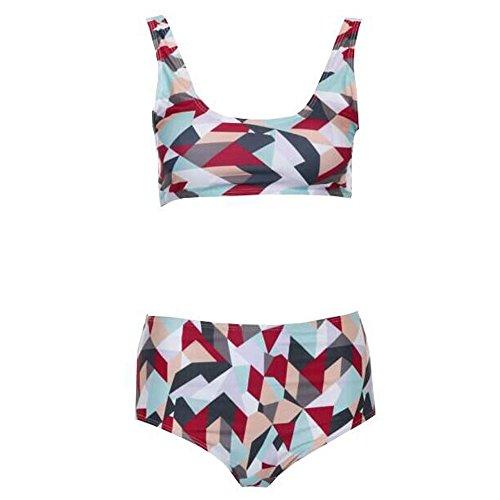 ZEELIY 2019 Damen Badeanzug Mode Strand Damen Badeanzug Damen Bikini mit Weste-Badeanzug und Tarnung Trend Schlank Badeanzug Urlaub