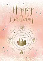 Harry Potter: Hogwarts Constellation Birthday Embellished Card (HP Constellation)