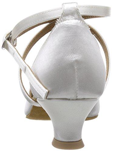 Diamant Brautschuhe Standard Tanzschuhe 107-013-092, Damen Tanzschuhe – Standard & Latein, Weiß (Weiß), 42 2/3 EU (8.5 Damen UK) - 3