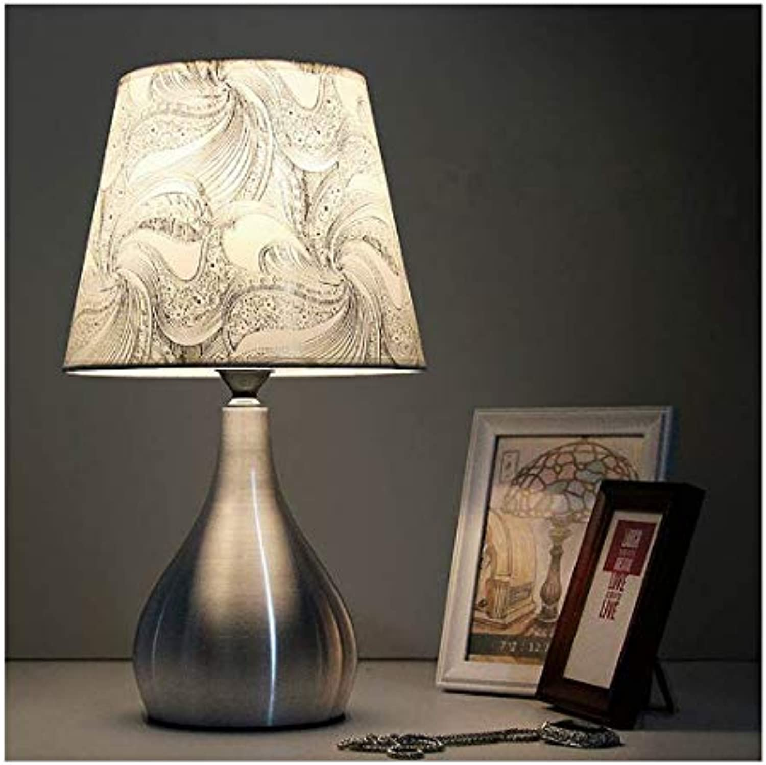 Modern Fashion Aluminum Modern Table Desk Lamp Led Bedside Lamp Table Lamps For Bedroom living Room Light A