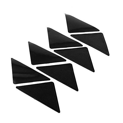 Silikon Matte, Teppich Matten Greifer, Antirutschpad, Non Slip Teppich Anti Skid Wiederverwendbarer waschbarer 4 Stück,8 Stück