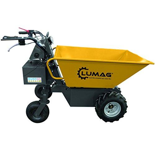 LUMAG Miniraupendumper Motorschubkarre MD500E PRO ***NEU***