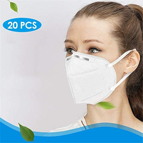 PRASACCO- 95{106596919d4e99f8a1c4af7b417fe9a0371c41c85f45220c788b58afdbd749b8} effektiver Filter, 20 Stück, CE-Zertifizierung