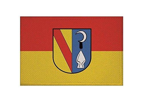 U24 Aufnäher Bahlingen am Kaiserstuhl Fahne Flagge Aufbügler Patch 9 x 6 cm