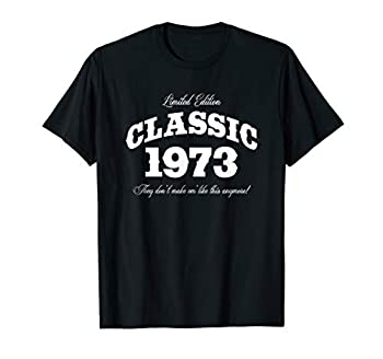 Gift for 47 Year Old  Vintage Classic Car 1973 47th Birthday T-Shirt