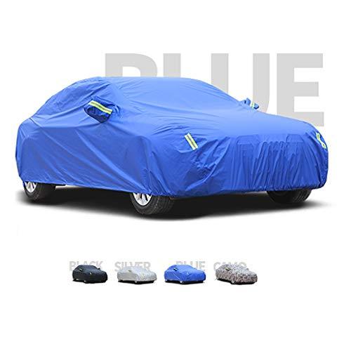 Fundas para Coche Cubiertas de automóviles, capucha de terciopelo grueso y de algodón, compatible con Maserati Levante, puede adaptarse a todo tipo de clima ( Color : C , Size : 2019 3.8T Trofeo )