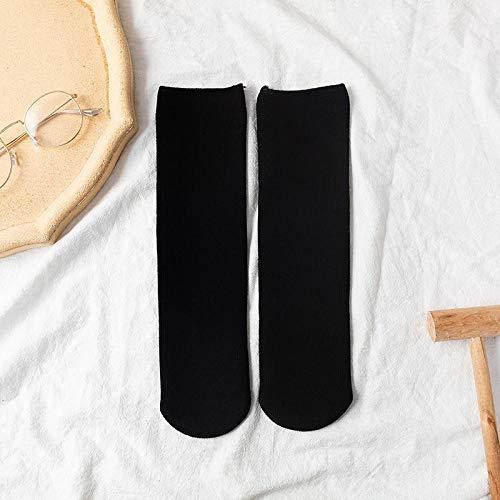 ROUNDER 5 Pares más Calcetines de Nieve Gruesos de Terciopelo Calcetines Casuales caseros para el Piso no Pueden permitirse Calcetines Cortos de Bola-2