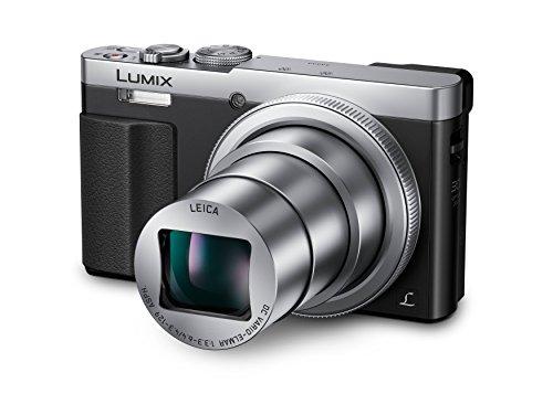 Panasonic DMC-TZ71EG-S Lumix Kompaktkamera (12,1 Megapixel, 30-Fach Opt. Zoom, 7,6 cm (3 Zoll) LCD-Display, Full HD, WiFi, USB 2.0) Silber & 32GB Speicherkarte für Panasonic DMC-TZ71EG-S