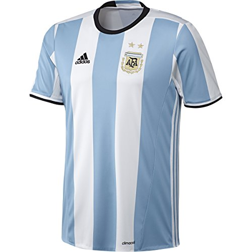 adidas Youth Climacool Argentina Home Replica Soccer Jersey Blue/Black S