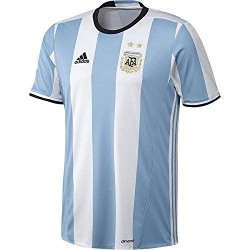 Adidas - Maglia da calcio Argentina da uomo Climacool (XL, bianco)