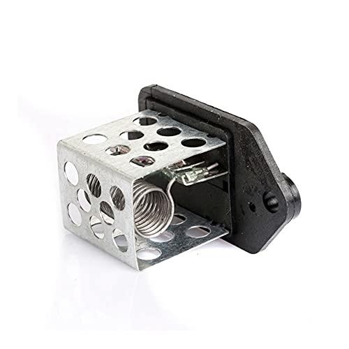 LinYom Negro/Fit para Citroen/Fit para Peugeot Partner 206 406 RADIADOR Resistor DE Calentador DE Ventilador 9641212480 1267.E3 1267E3