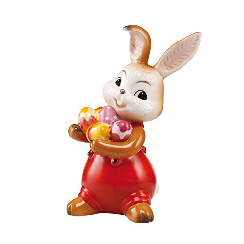 Goebel La Pasqua può arrivare a Un Coniglietto Pasquale, in gres, Multicolore, 15,5 x 9,5 x 8 cm