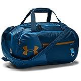 Under Armour Undeniable Duffle 4.0 bolsa de deportes, bolsa de entrenamiento unisex, Azul (Graphite Blue/Electric Blue/Yellow Ochre(581)), S