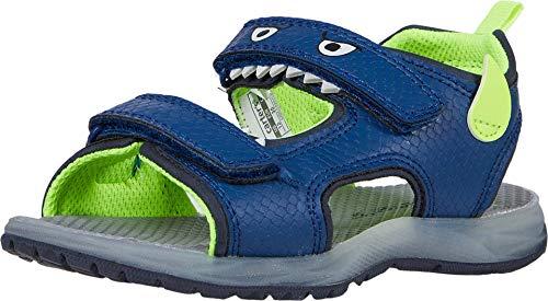 Carter's Boy's Cade Light-Up Sandals, Blue, 10 Toddler