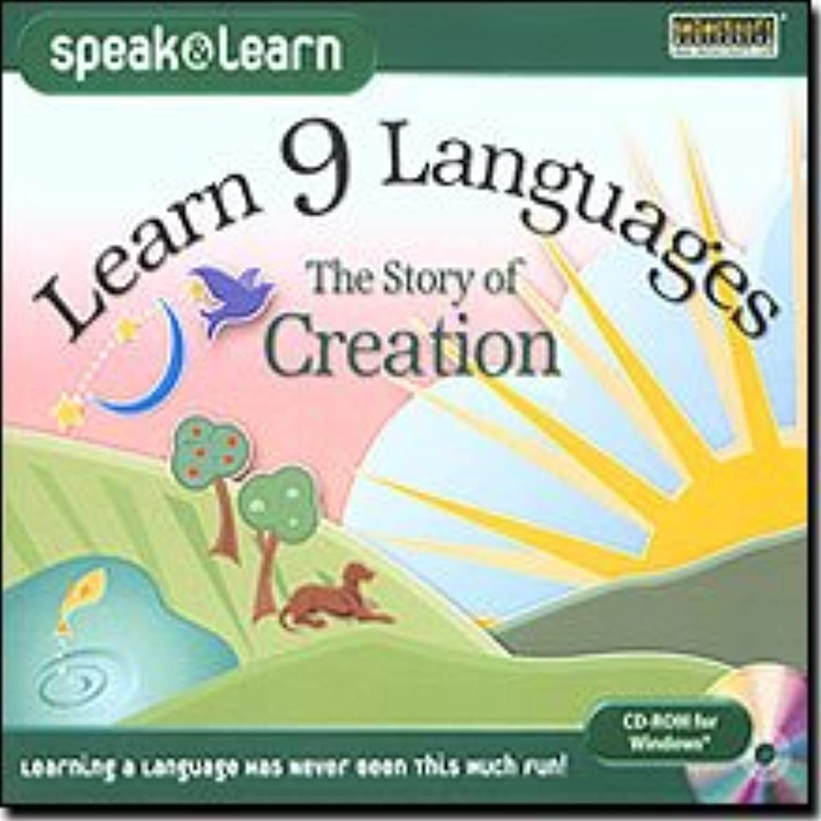 The Best Learn 9 Languages The Story of Creation-LESPL9CREJ - Designed Specially for Beginners. Multilingual stories in English, Spanish, French, German, Italian, Portuguese, Japanese, Korean, and Chinese. Reading and listening to stories can be one of the best and easiest ways to learn a new language. With Speak & Learn, you can practice reading and listening skills, learn new vocabulary and even customize your own language drills. Choose from English, Spanish, French, Ge