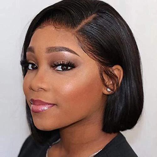 BIPLE 360 Lace Wig Cheveux Humain Perruque Femme Naturelle Brésilien 10 Pouce