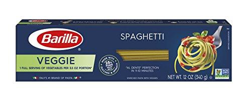 Barilla Veggie Pasta, Spaghetti, 12 oz