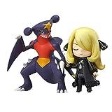ZHUZEwei Nendoroid Mini Q Cynthia 3.9inches Carácter Pokemon Poket Figura de acción de EP-PVC