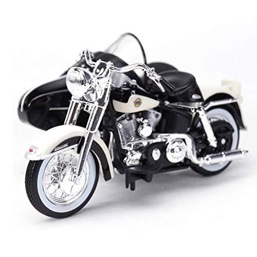 ZY 1.18 Simulation Legierung Harley Side DREI Rad-Straddle-Motorrad-Modell, Alloy...