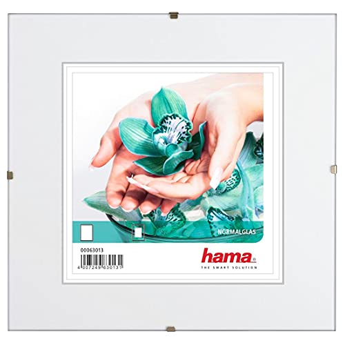Hama 63027 - Marco de Fotos, Color Transparente
