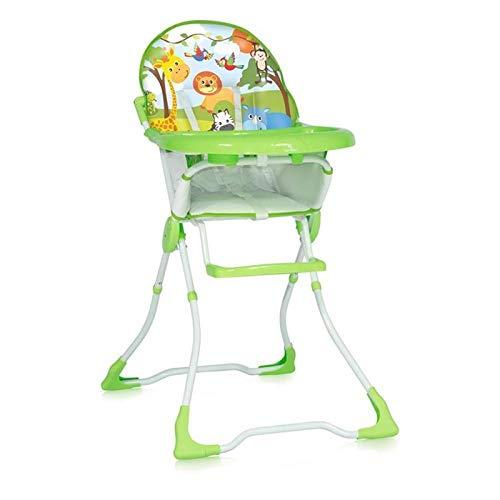 Lorelli 10100321821 Chaise Haute pour Bébé Marcel Vert