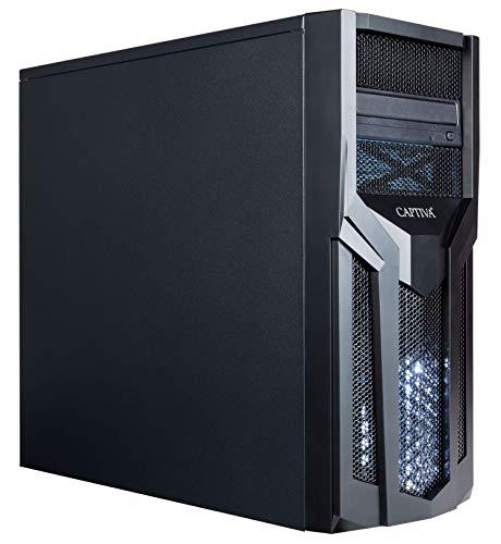 Captiva Advanced Gaming R52-681 Gaming PC | AMD Ryzen 5 3600X | GTX 1660 6GB | 16GB DDR4 RAM | SSD 480GB | HDD 1TB | refrigeración por aire | ventilador LED | iluminación | Windows 10 | juegos de PC
