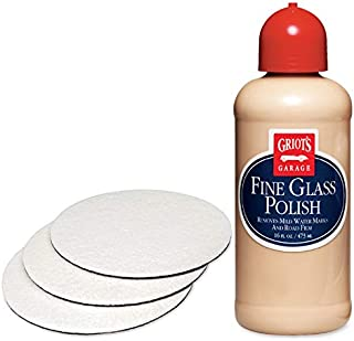 Griot's Garage Fine Glass Polish and 6