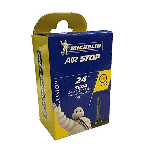 Michelin 550A/24X1,75 Bici Cámara, Unisex, Negro, Talla Única
