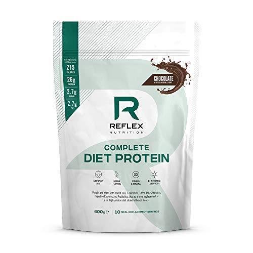 Reflex Nutrition Diet Shake | Diet Meal Replacement Shake | 108 Calories | Diet Protein Powder (Chocolate) (600g)