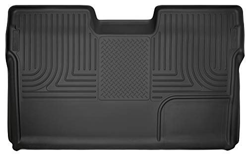 Husky Liners Fits 2009-14 Ford F-150 SuperCrew Weatherbeater 2nd Seat Floor Mat (Full Coverage)