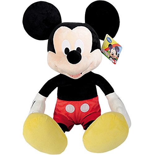XXL Mickey Mouse Peluche 80 cm – XXL Disney Mickey Mouse C