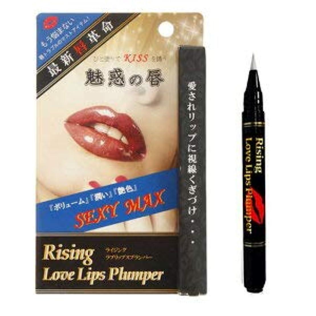 とげのある一晩強風ライジング ラブリップスプランパー Love Lips Plumper 唇専用美容液 LOVE LIP ラブ リップ グロス 化粧品 メイク 塗る 唇 潤い 艶 ハリ ボリューム かわいい 美人 女子 女子力
