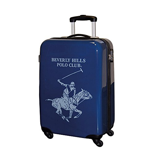 Beverly Hills Polo Club Maleta, 55 cm, ABS, 35 Litros, Azul