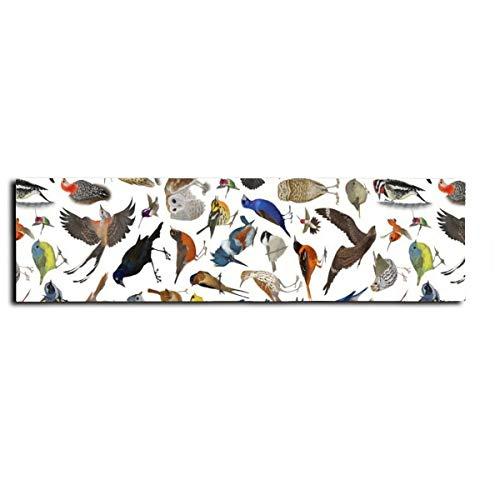 Patrón de pájaro patinaje adhesivo Longboard cinta antideslizante para patines monopatín monopatín largo tablero escaleras, pedal de 22 x 83 pulgadas
