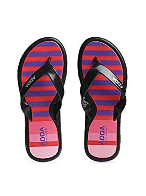 ADDA TM-Mist || Shock Absorbent EVA Sole || Skid Resistant || Lightweight || Soft and Comfortable Washable Footbed || Outdoor Slipper || Special Soft || Thong Slipper for Women