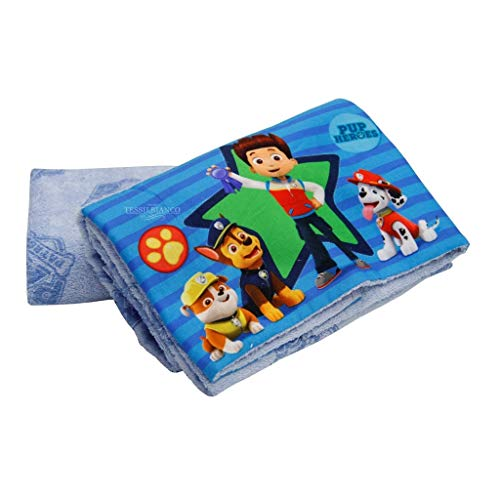 Gabel Paw Patrol Set dos toallas, 100% algodón, azul claro