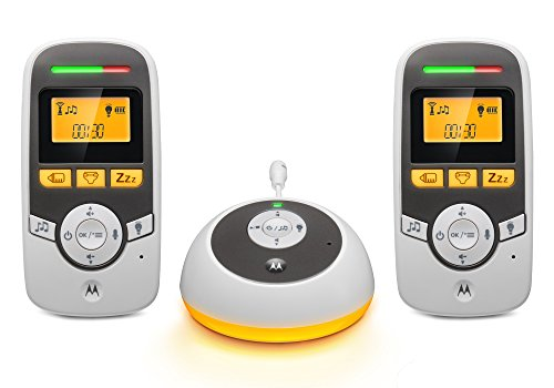 Motorola MBP161TIMER-2 Digital Audio Monitor with Baby Care Timer and Two Parent Units