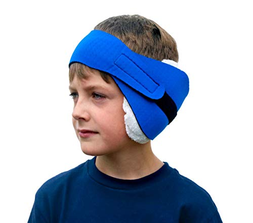 Physician's CHOICE Eavey Easy Ear Wrap, Adjustable, One Size Fits All, External Dressing, Assorted Colors, Pack of 6